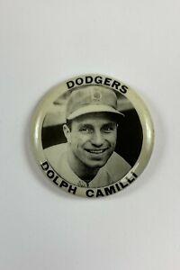 1940-1960 PM10 Baseball Player Pins Dolph Camilli OOKP1-02