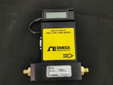 Massflow Meter FMA 1700/1800 Omega Series mass flowmeter, labeled 0-10mL/min wit