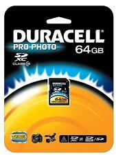 Duracell 64 GB SDXC UHS-1 Classe 10 SCHEDA DI MEMORIA