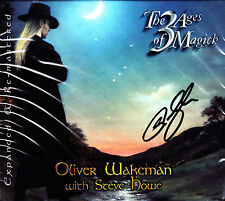 OLIVER WAKEMAN with STEVE HOWE the 3 ages of magick + 3 bonus tr Esoteric CD NEU