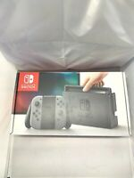 Nintendo Switch 32GB Gray Console (with Gray Joy-Cons) -Complete Set