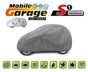 Autoabdeckung Ganzgarage Vollgarage Autoplane S für Smart ForTwo Atmungsaktiv