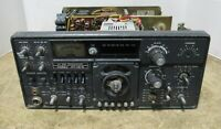 YAESU FT-101Z HF SSB Radio Transceiver Body w/ Bad Rusting Issues For Parts Only