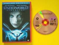 DVD Film Ita Fantascienza UNDERWORLD Evolution ex nolo no vhs cd lp mc (T4)