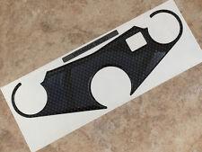 Efecto de fibra de carbono cubierta yugo para adaptarse a Honda VFR400R-NC30