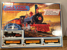 """OLD WEST ELECTRIC TRAIN SET - """"OLD TYME VILLAGE EXPRESS"""" - BACHMANN - HO Scale"""