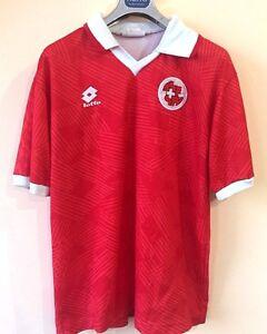 Ciriaco Sforza Switzerland Jersey 1992 1993 Home Match Worn XL Shirt Lotto ig93