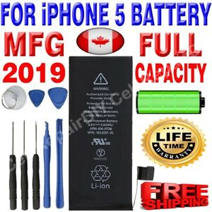 Brand NEW OEM Replacement iPhone 5 Battery 1440 mAh with Free Tools