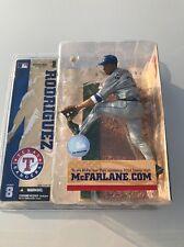McFarlane MLB Series Alex Rodriguez Texas Rangers gray jersey chase figure
