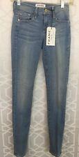 Frame Jeans Le Skinny De Jeanne Lt Blue Size 23 NWT