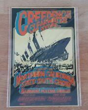 BG 174 Credence Clearwater Revival Bangon Randy Tuten Fillmore Postcard