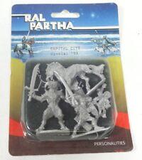 RAL PARTHA Fantasy Blister Pack Models 54mm VTG 1993 Capital City Special NIP
