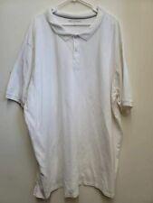 Great Northwest Clothing Mens Golf Polo Shirt White Short Sleeve Big & Tall 4XLT