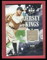 BABE RUTH GAME USED JERSEY CARD 2018 DIAMOND KINGS JERSEY NEW YORK YANKEES
