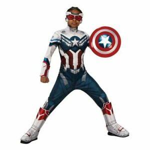 Falcon Winter Soldier Captain America Halloween Costume Boy Child Small 4 5 6