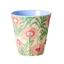 RICE Melamine cup in vintage floral print - combined postage available