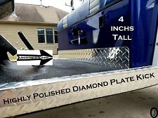 Club Car DS Golf Cart Highly Polished Aluminum Diamond Plate Kick Panel