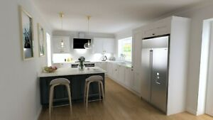 Ashley Ann Kitchen Units, Blue and White - Cancelled Order