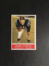 1964   PHILA  FOOTBALL  #12  JOHNNY  UNITAS   NM+