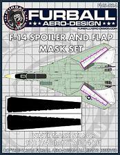 1/48 Furball F-14 Spoiler & Flap Vinyl Mask Set for the Tamiya Kit