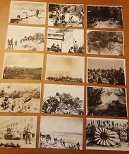 WWII PHOTO LOT OF 90 PHOTOS USMC US ARMY GRAPHIC BATTLE ACTION IWO,SAIPAN PLUS