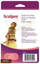 Sculpey Polymer Clay Flexible Push Mold FAIRY DOLL Apm50