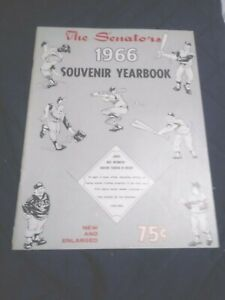 1966 Washington Senators Yearbook near mint condition (see scan)