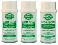Dakota Odor Bomb Car Odor Eliminator - Orange Citrus 5 oz. x 3 PACK DAK-48-OC