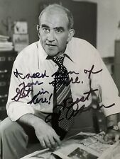 ED ASNER (Mary Tyler Moore, Lou Grant) Signed/Autographed 5x7 Photo