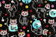 Cat Kitten Cotton Fabric by Timeless Treasures Fabrics by the Yard