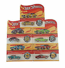 Hot Wheels 2018 50th Anniversary Redlines With Button Trade Case 5 Sets 25 Cars