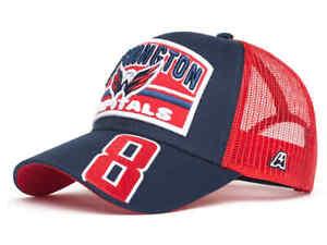 "Washington Capitals ""Ovechkin # 8"" NHL trucker hat cap"