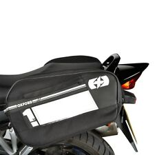 Oxford F1 Motorbike Motorcycle 45l Panniers Outdoors Touring Luggage Reflective