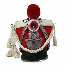 France Napoleon Tschako Shako Helmet Waterloo Soft Guard of Honor SCA 199
