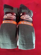 6 Pair Large Team Realtree Warm Cotton Cushion Crew Socks 9-13  Made USA
