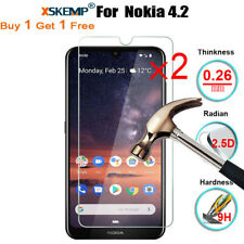 2X Tempered Glass Screen Protector Guard For Nokia 8.1 Plus/ 6 2018 /1 Plus / 9