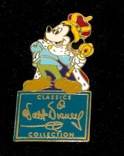 Walt Disney Pin✿WDCC Signature Classic Cartoon Mickey Prince and Pauper Retired
