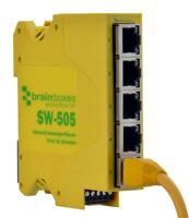 Ethernet Switch Industrial 5 Port - Sw-505