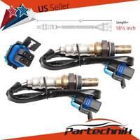 SET of 2pcs O2 Lambda Oxygen Sensor Upstream Downstream for Cadillac Chevrolet