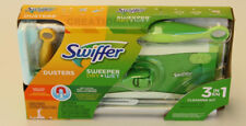 Swiffer Wet Dry Sweeper Duster 3 in 1 Cleaning Kit Dusting Sweeping Mopping NEW
