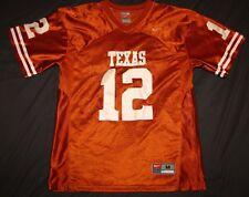 Nike brand Texas Longhorns Football jersey sewn #12 colt mccoy YOUTH M ladies