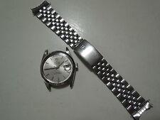 Authentic Tudor Day Date 18K White Gold Bezel Automatic Men Watch 94814