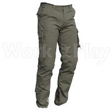 Pantalone da lavoro multitasche cotone Uomo ISSA Raptor Work Cargo Taglie Forti L Grey