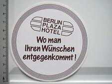 Aufkleber Sticker Berlin - Plaza Hotel (S1286)