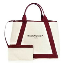 Balenciaga Cabas Shoulder Bag black/red