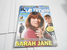 #136 Cult Times science fiction tv magazine (Unread) Dr Who - Sarah Jane