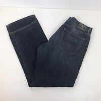 Mens LUCKY BRAND Jean 181 Jeans Blue Denim Straight Fit 36 Waist 33 Leg