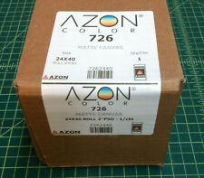 "Inkjet Plotter Canvas  24"" x 40' Inkjet AZON 2"" core"