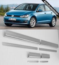 VW Golf Mk7 (Released 2013) 4 Door Stainless Steel Sill Protectors / Kick Plates