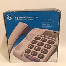 Genuine GE (29369GE1-A) Big Button Caller ID With Speaker Phone Corded Telephone